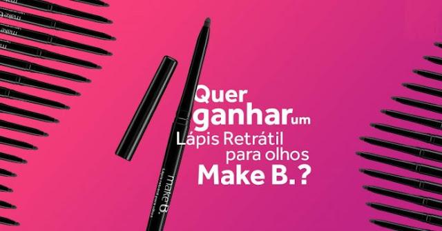 Site usa a Promoção Lápis Delineador Make B do O Boticário para golpe de Clickbait
