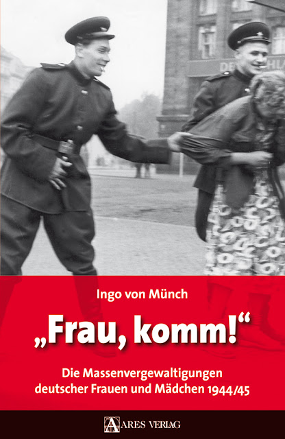 Brutal Mass Rape Of German Women In 1945