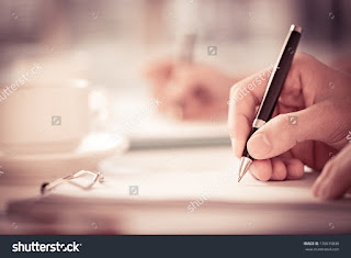 writing atau menulis