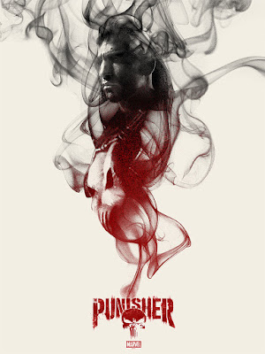 The Punisher Netflix Television Series Screen Print by Greg Ruth x Mondo x Marvel