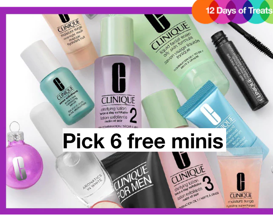 40a3a3d3c2c Clinique 6 Free Minis With Any Purchase + Free Shipping = Dual-Ended High  Impact Mascara & Primer Duo + 6 Free Minis $6, Travel Size - Chubby Lash  Fattening ...