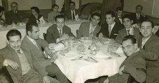 Más ajedrecistas del Club Ajedrez Barcelona en La Farga de Bebié, 1956