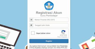 Cara Registrasi SIM Guru Pembelajar 2017 (SIM PKB Guru) dejarfa.com