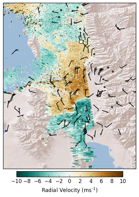 Brian Blaylock's Python Blog: Plotting radar data with MetPy