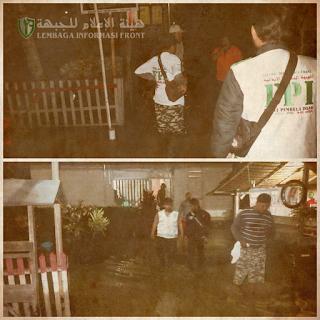 Relawan FPI Poso Bantu Warga Korban Banjir Desa Kilo Disaat Relawan Lain Belum Tiba