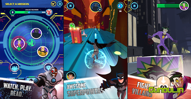 Justice League Action Run APK MOD
