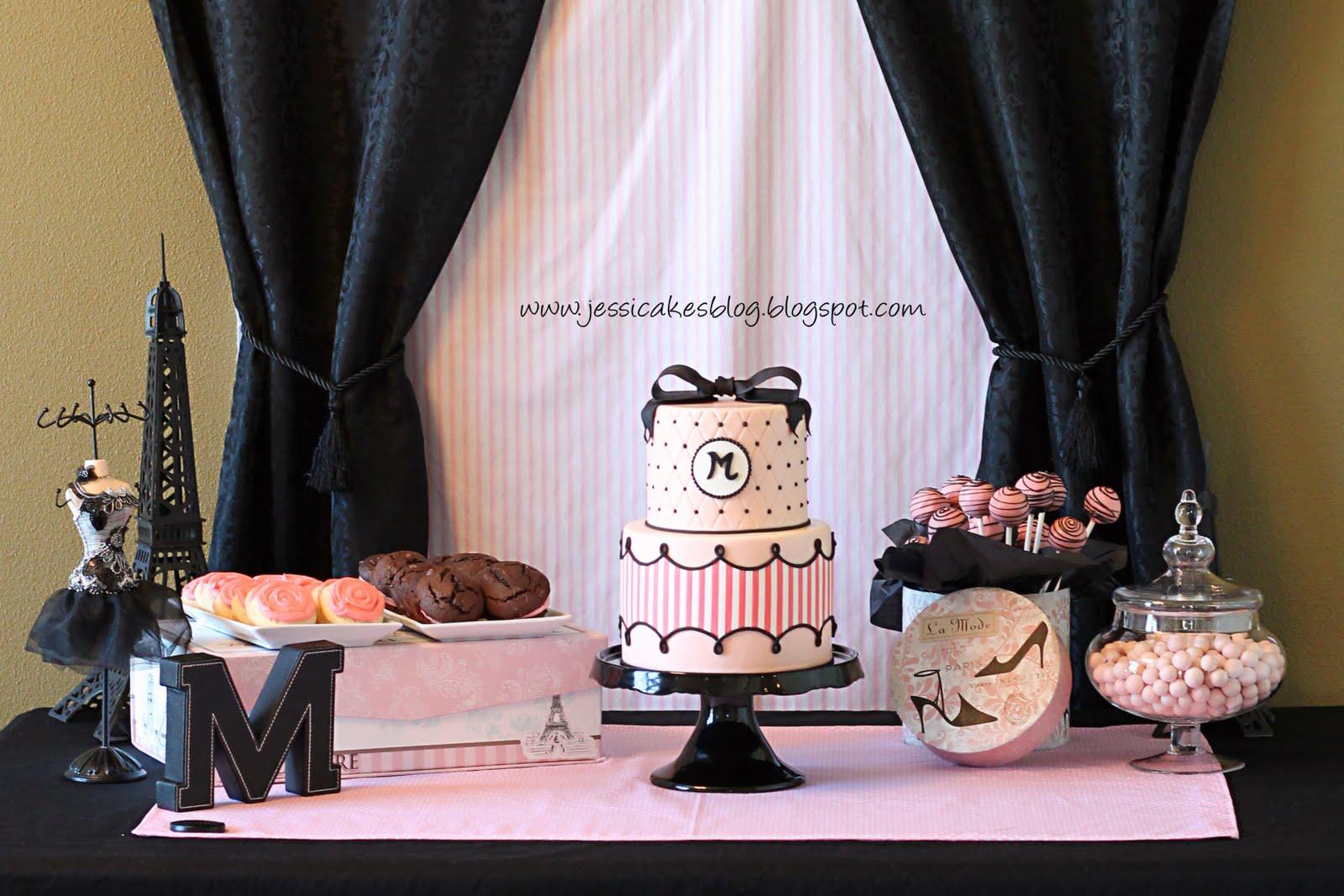 Maddies Fashion Birthday Cake Jessica Harris Cake Design