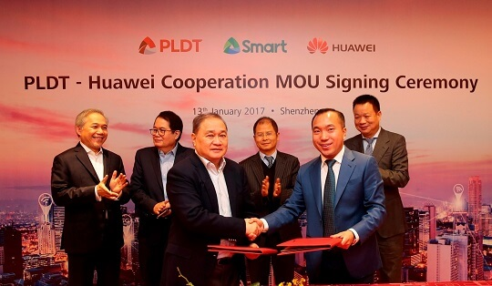 PLDT and Smart Partnered with Huawei for 5G Networks