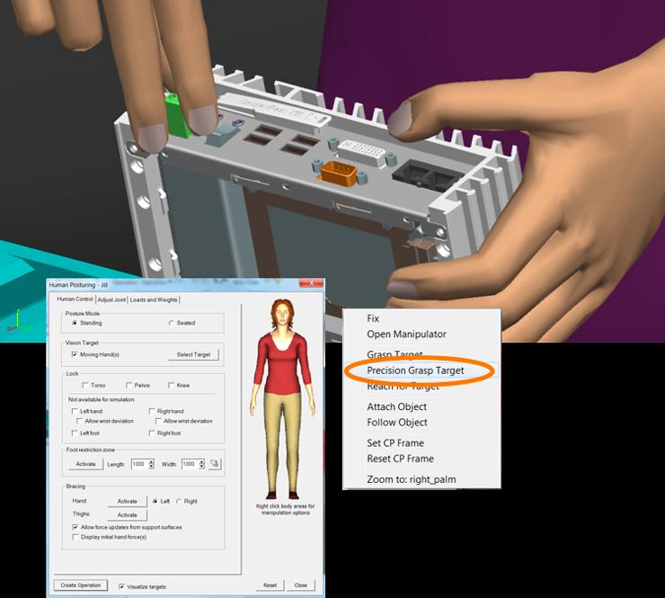 В новой версии стало возможным манипулировать малыми объектами производства при помощи пальцев.