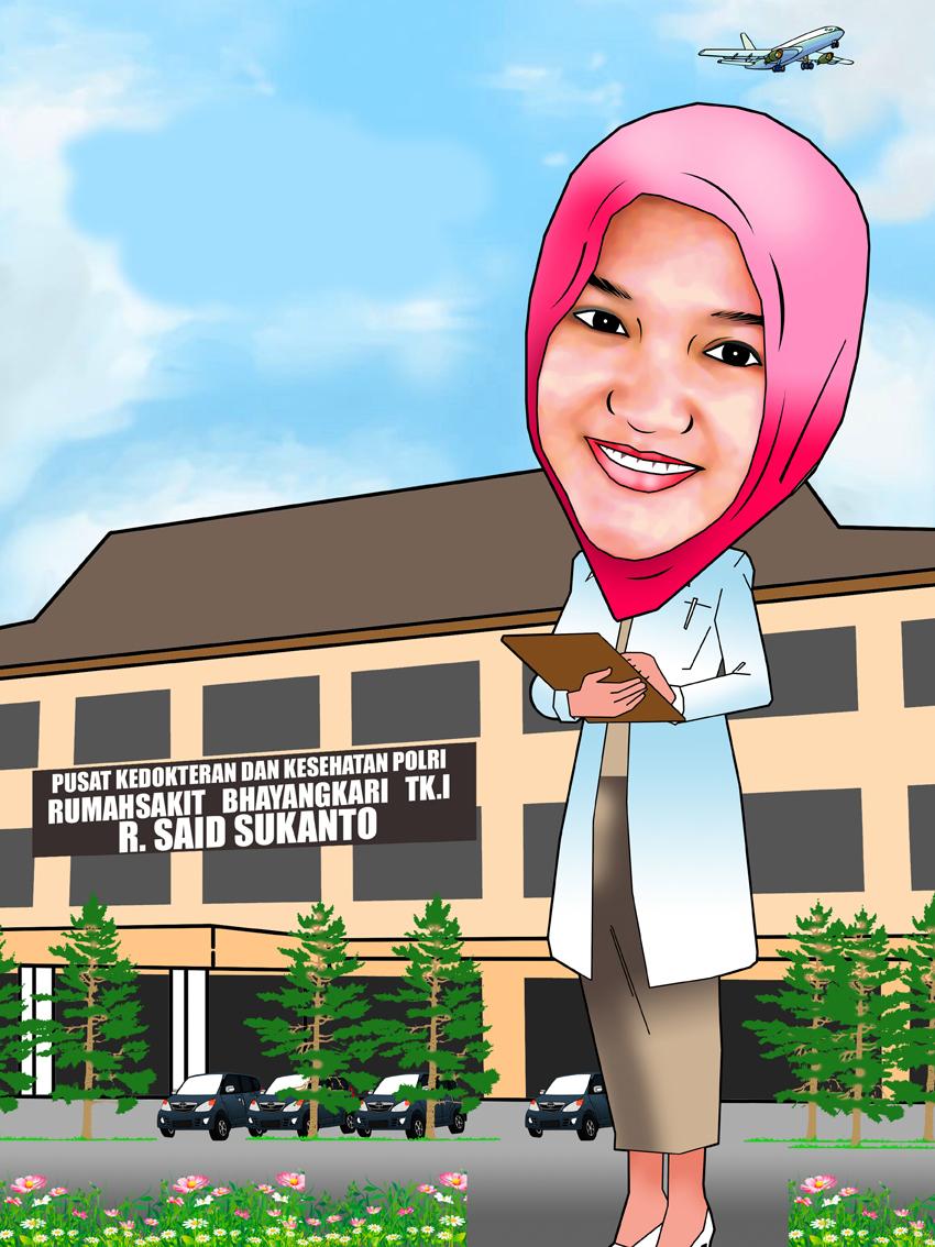 PESAN KARIKATUR MURAH Perempuan Dalam Karikatur