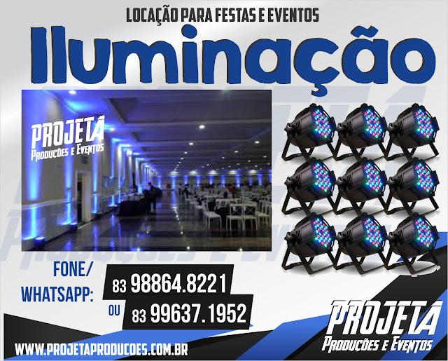 Iluminação Decorativa para Festas e Eventos