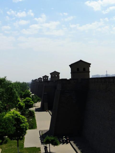 Pingyao's city wall