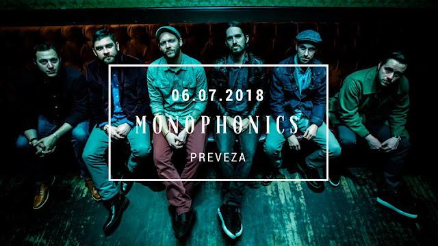 Πρέβεζα: Λίγες ώρες απομένουν.. Παρασκευή 6/7 η μεγάλη συναυλία των Καλιφορνέζων MONOPHONICS στην Πρέβεζα