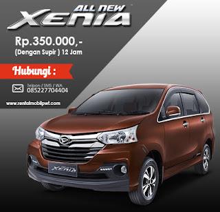Rental Mobil Purwokerto - Harga Rental Mobil All New Xenia Terbaru