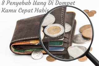 Tidak Terasa Uang Di Dompet Sering Hilang, Inilah Penyebabnya !!!