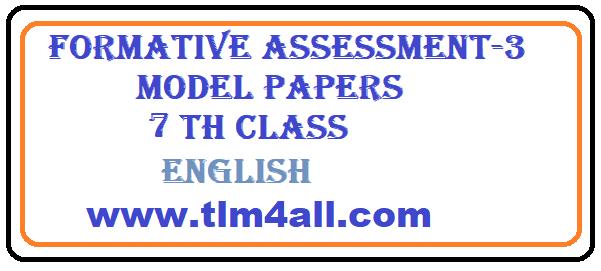 9th sa2 cbse english sample paper.