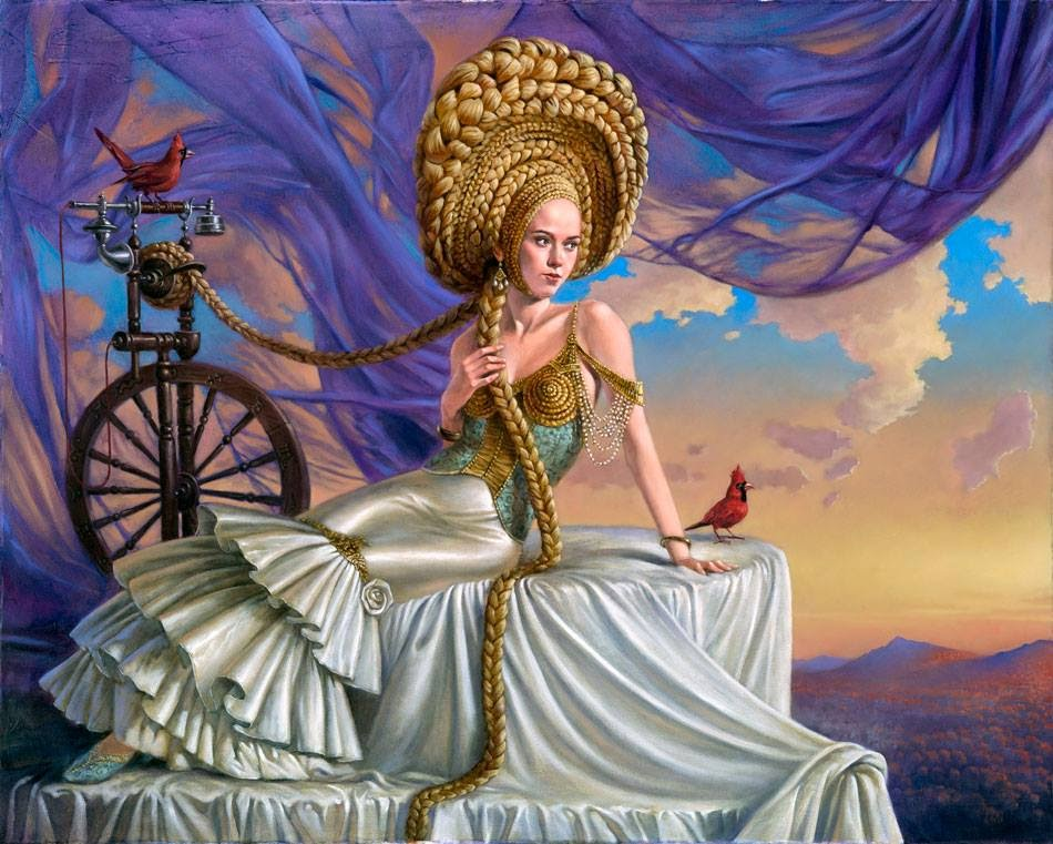 Michael-Cheval ~ pintor surrealista