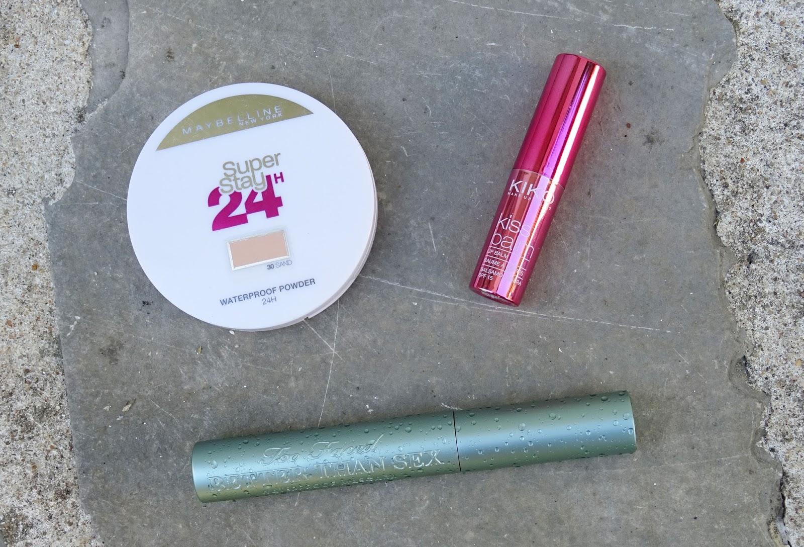 Mes essentiels de l'été 2016 maquillage