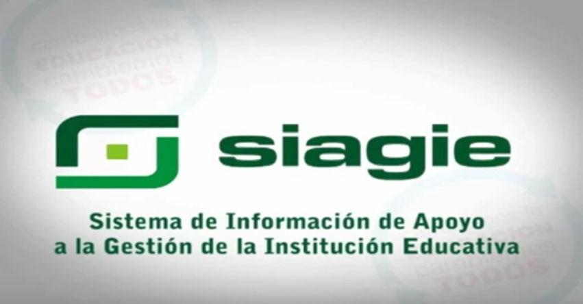 SIAGIE: Registro de estudiantes 2017 [VIDEO] www.siagie.minedu.gob.pe