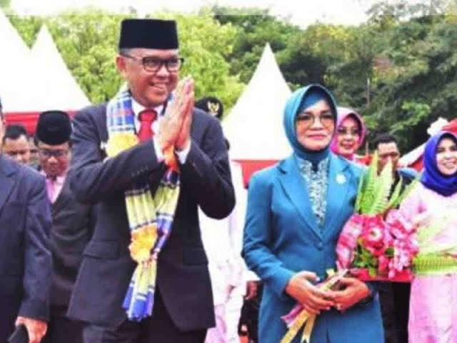 Inilah Pesan Nurdin Abdullah untuk Istri Tercinta, Liestiaty Nurdin