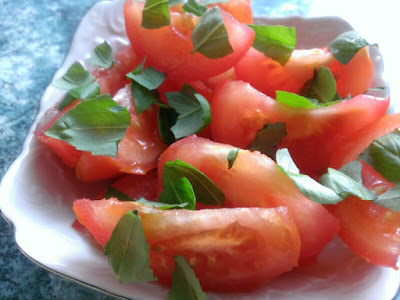 Dodatek z pomidorów do obiadu