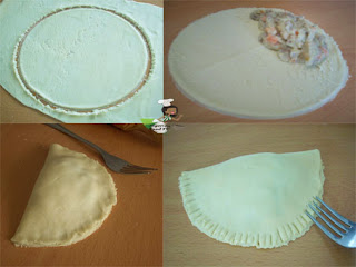 Nigerian Meat Pie step by step