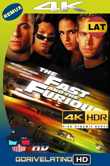 Rápido y Furioso (2001) BDRemux 2160P 4K HDR Latino MKV