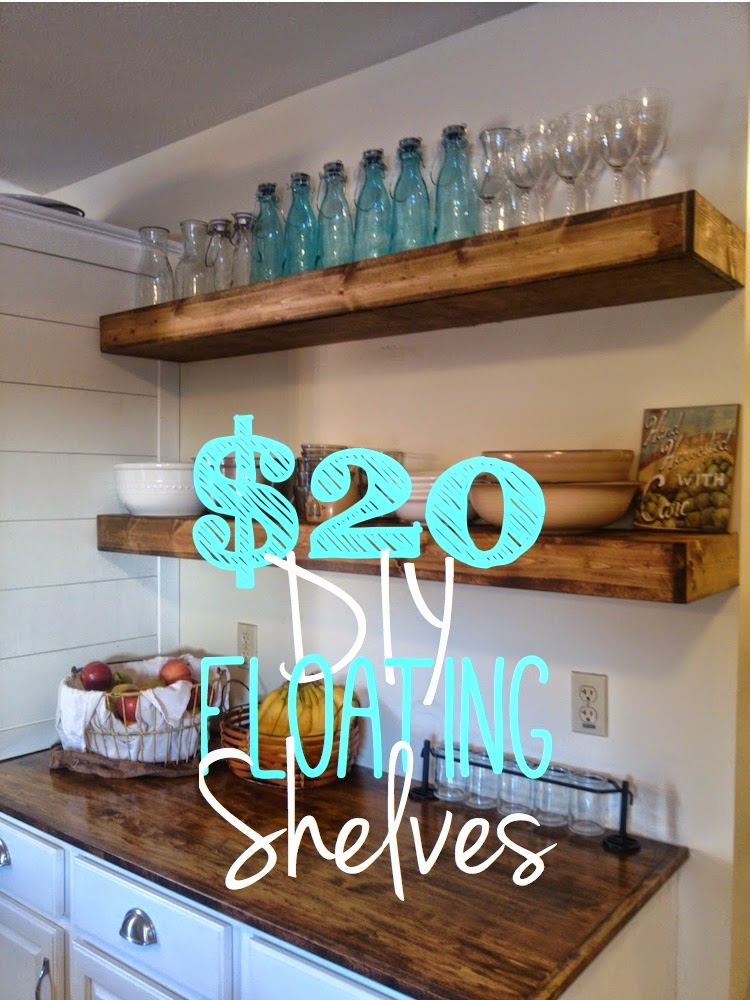 Kitchen Wall Shelf With Railing