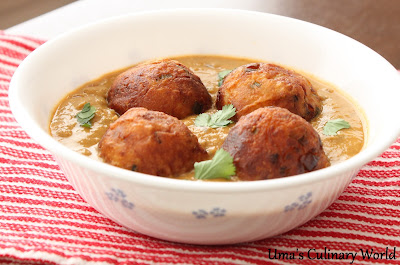 Ricotta Cheese Kofta Curry