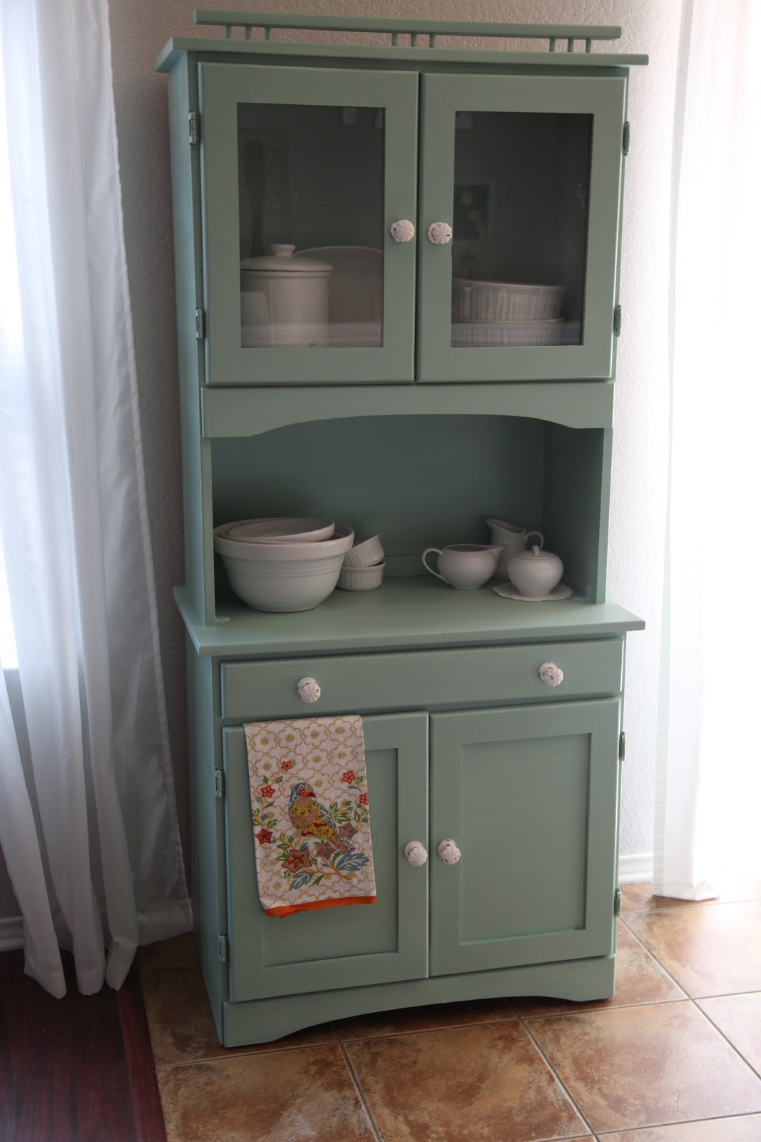 vintage kitchen hutch swags and valances bits of splendor living room makeover progress