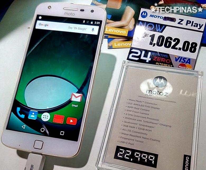 Moto Z Play Philippines