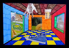 Arteascuola arte rivisitata le stanze surrealiste for Disegno stanza