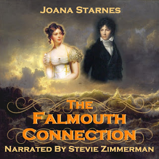 Audio book cover: The Falmouth Connection by Joana Starnes