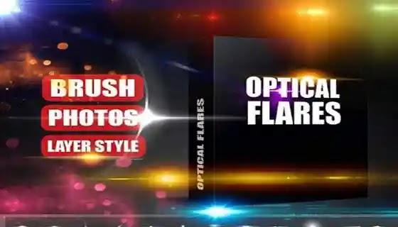 فرش تأثيرات مضيئة لبرنامج فوتوشوب لإضافة التأثيرات  للتصميم Optical Flares Brushes,فرش,فرش فوتوشوب,فرش اضاءات,تحميل فرش فوتوشوب اضاءة,سبوتات