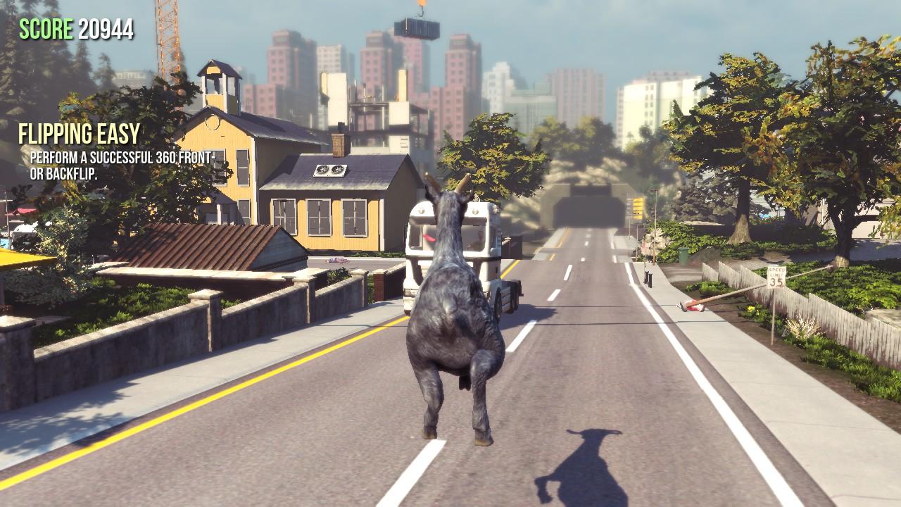 تحميل لعبة Goat Simulator على الكمبيوتر