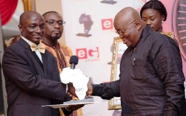 President Akufo-Addo receives National Achievement Award