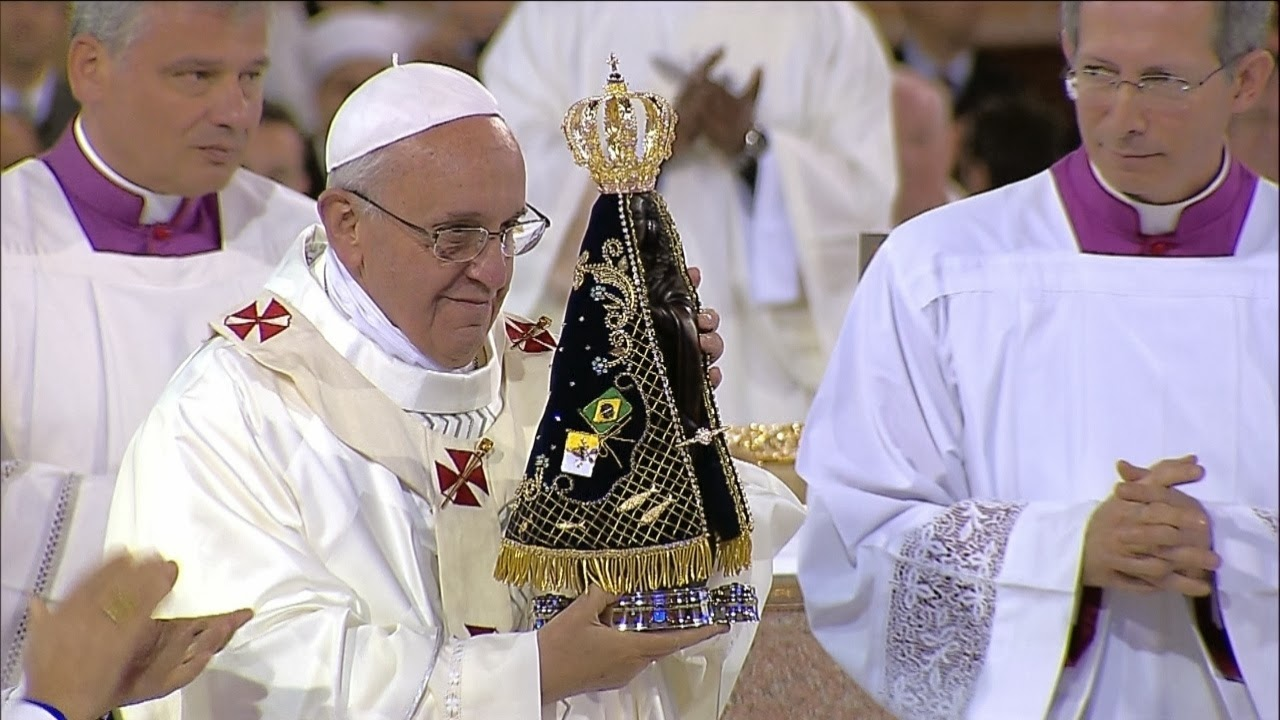 Solenidade De Nossa Senhora Aparecida Paróquia Nossa: Fides Ecclesiae: SOLENIDADE DE NOSSA SENHORA DA CONCEIÇÃO