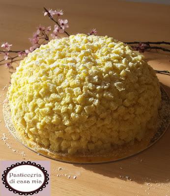 ricetta zuccotto di torta mimosa di pasticceria di casa mia
