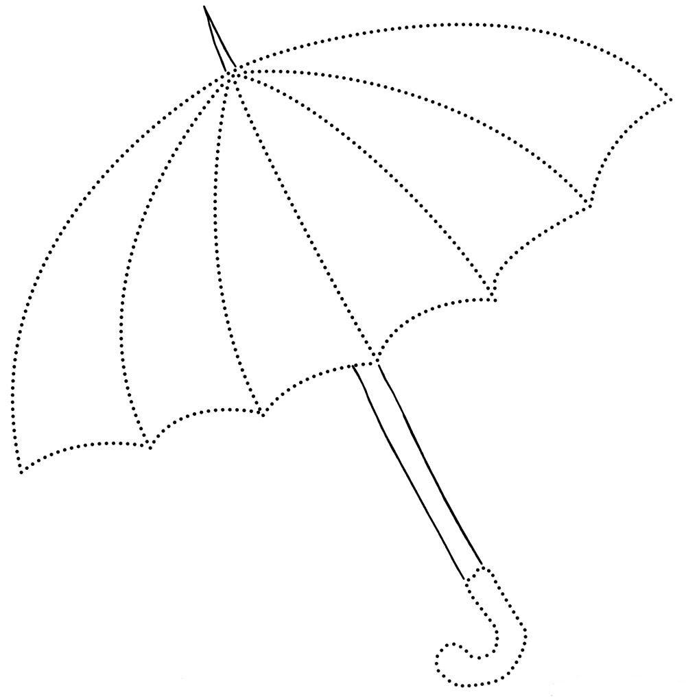 Gambar Mewarnai Payung 9