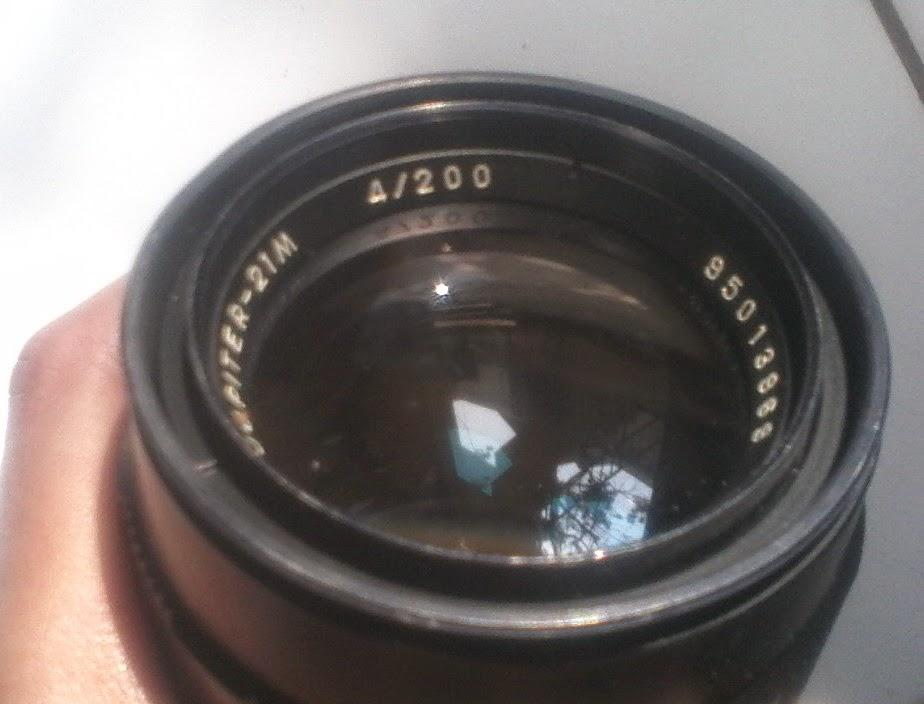 Jupiter 21m 200mm f/4 depan brand