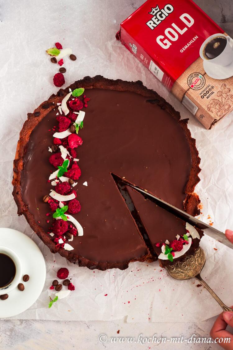 Kaffee-Schokoladen Tarte