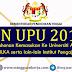 PIN UPU 2019 / Permohonan Kemasukan ke Universiti Awam, Politeknik, ILKA, lain-lain IPT