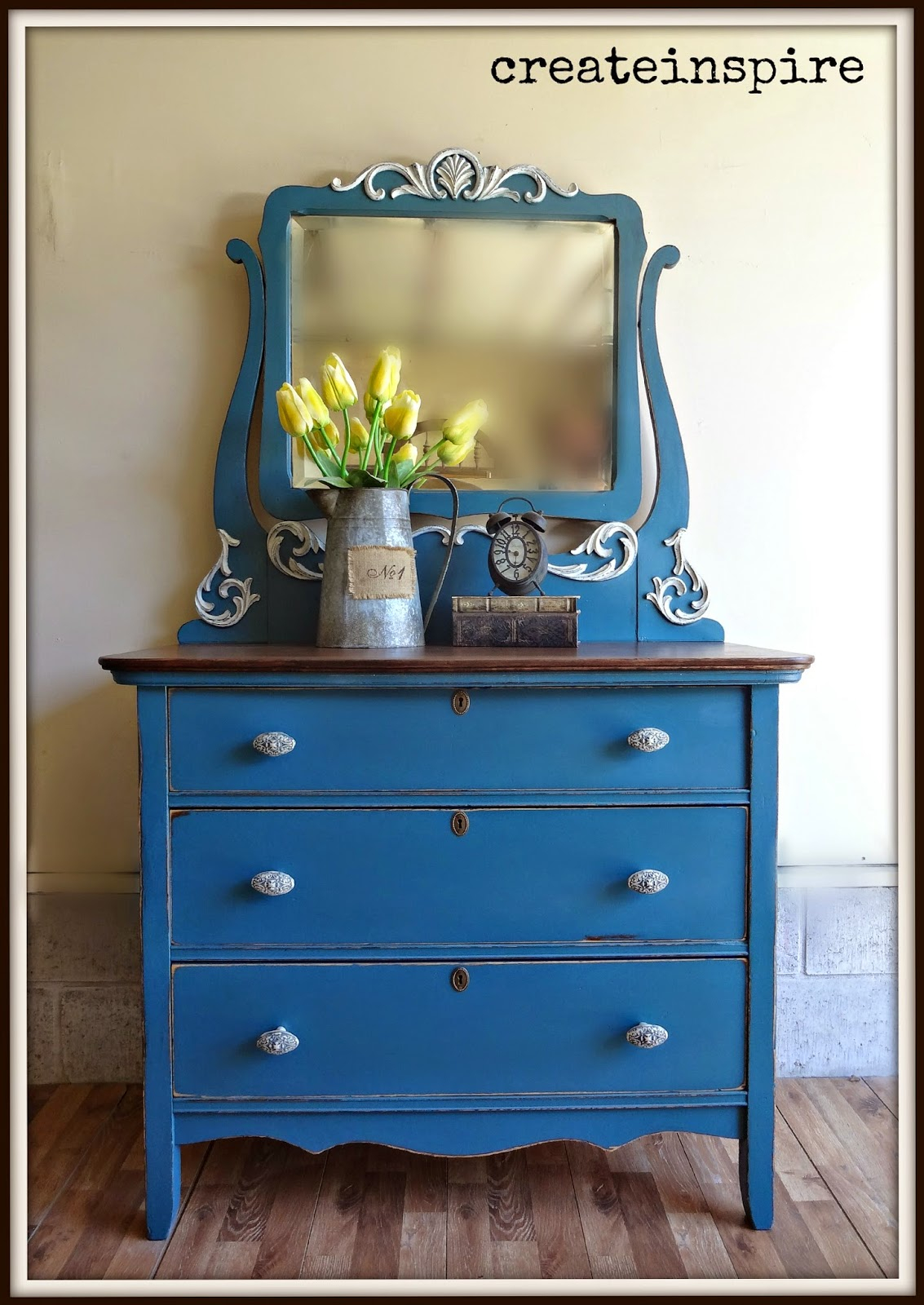 Createinspire Antique Dresser In Seaside From Fusion