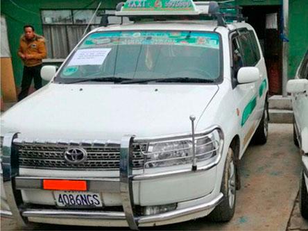 Encuentran en Villazón coche robado en El Alto