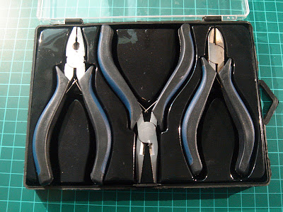 A set of small pliers