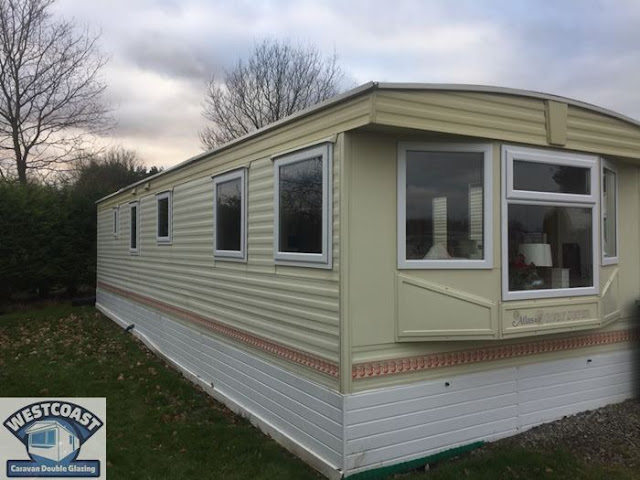 static caravan double glazing installers