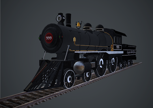 Steam Locomotion: Empire State Express 999