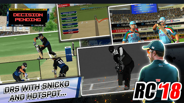 Real Cricket 19 Features