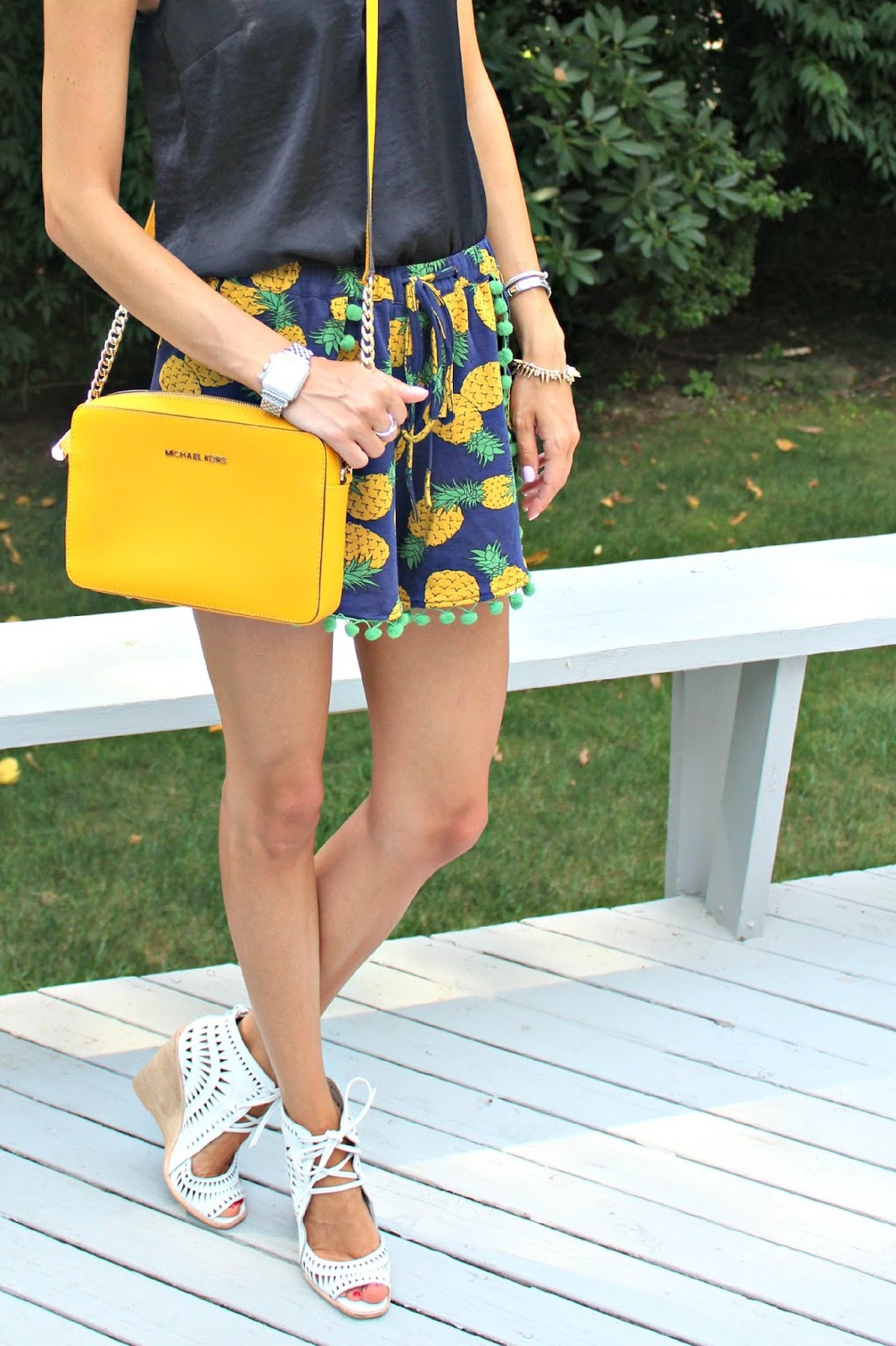 pineapple shorts from eshakti