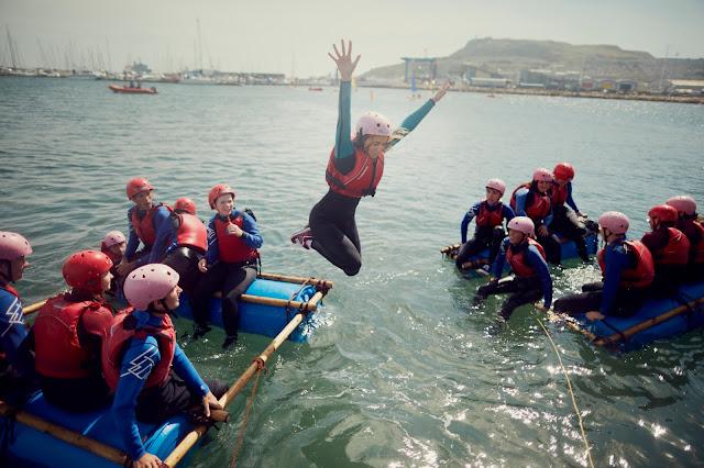rafting on NCS programe